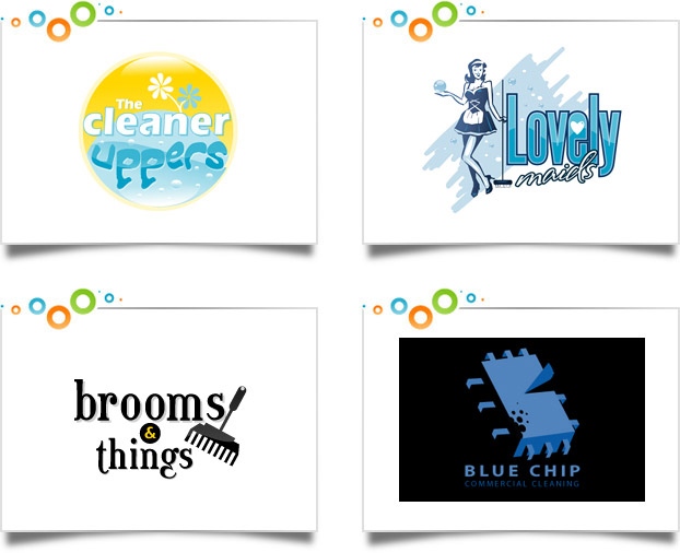 Cleaning Services Logo Designs